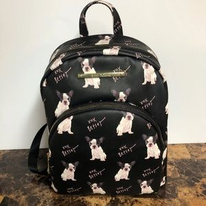 Boston Terrier French Bulldog Backpack